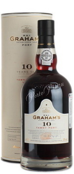 Портвейн Grahams 10 years old Портвейн 10-Летный