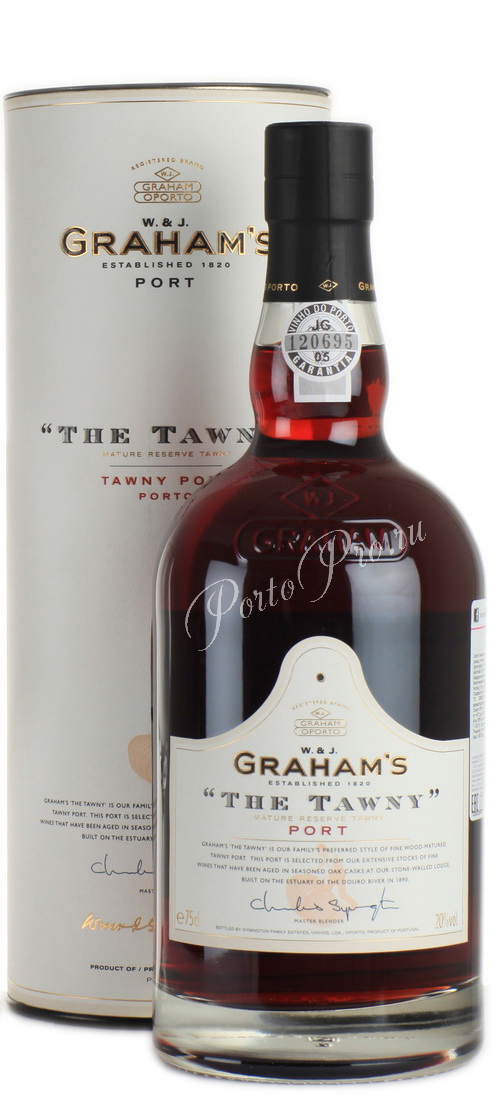 Grahams The Tawny портвейн Грэмс Зэ Тони в тубе