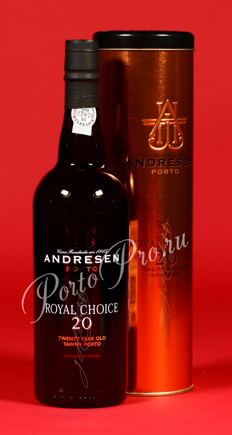 Andresen Royal Choice Tawny, портвейн Андресен королевский выбор 20 лет